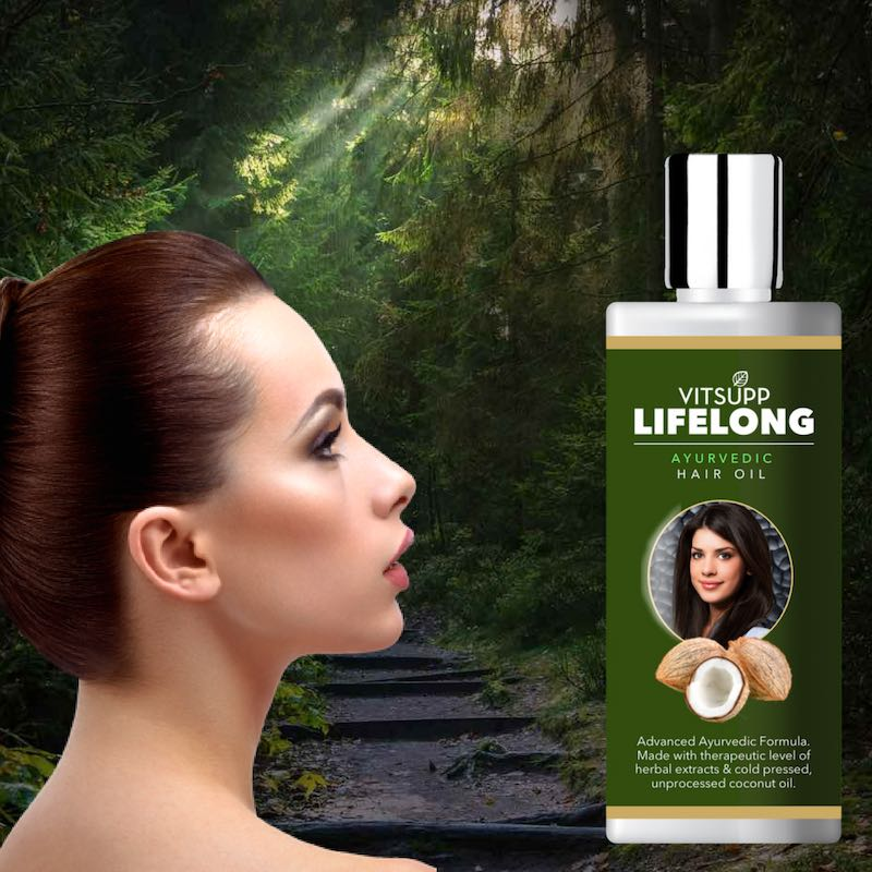 VitSupp LifeLong Hair Oil for Women
